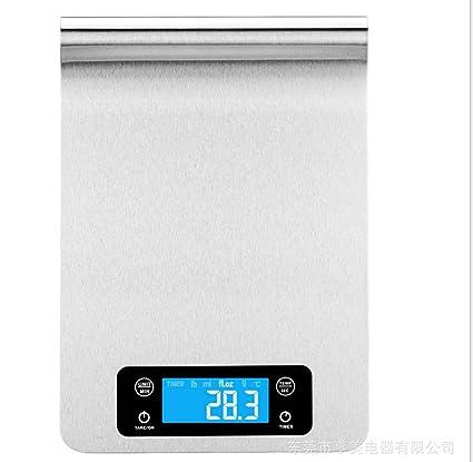 L&R cocina del hogar de precisión báscula electrónica alimentos de panadería pesa varias pequeñas escalas de