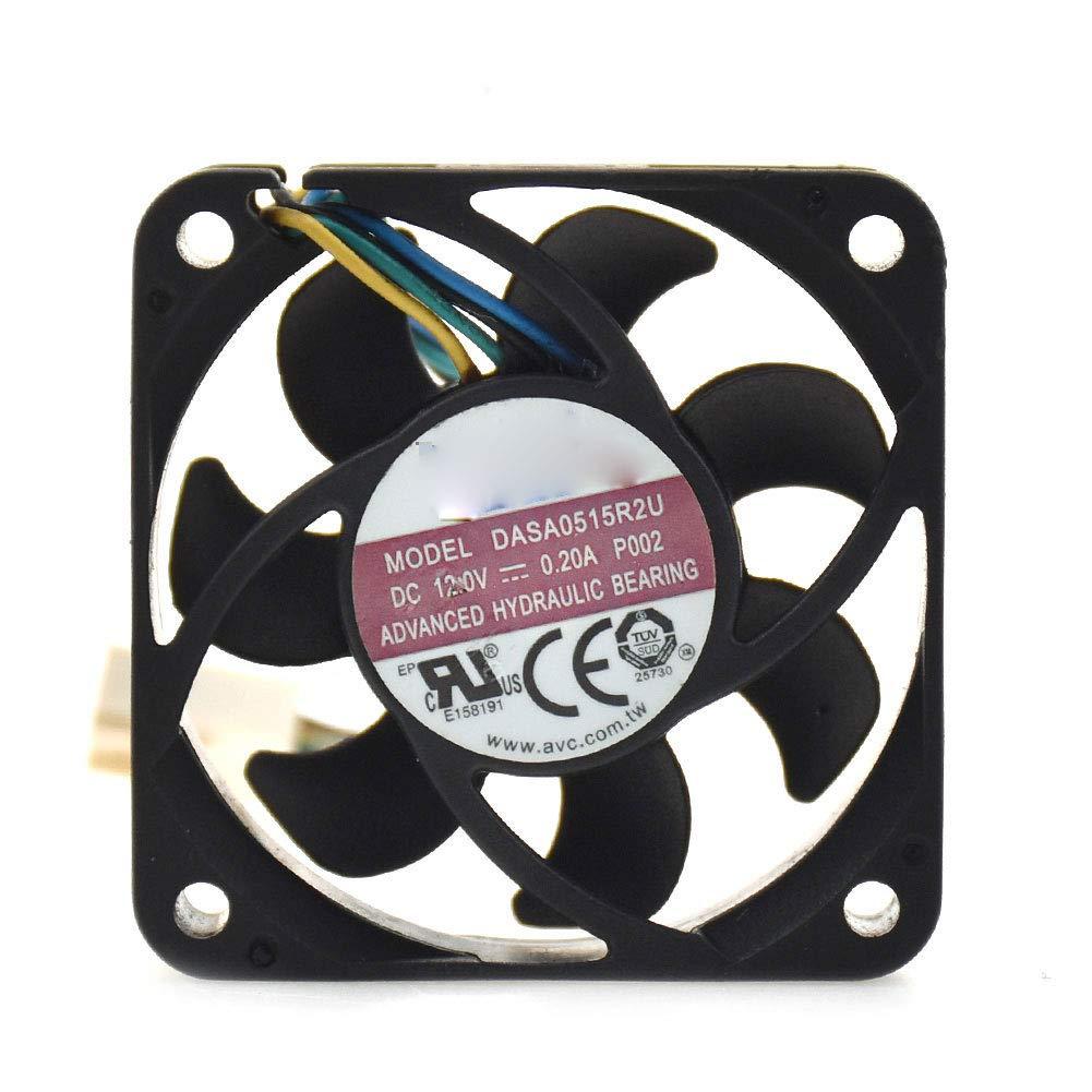 for AVC DASA0515R2U 454515mm 12V 0.20A 4pin PWM Cooling Fan
