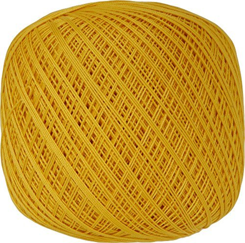 Lace thread GOLD SPECIAL # 40 Col.503 Yellow series 50 g 445 m 3 ball set by Olempus made cord