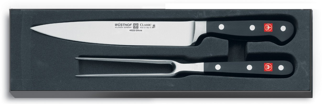Wusthof Classic 2-Piece Carving Set