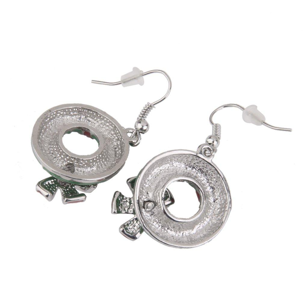 MonkeyJack Fashion Jewelry Christmas Earrings Women Drop Dangle Earrings Cute Santa Claus
