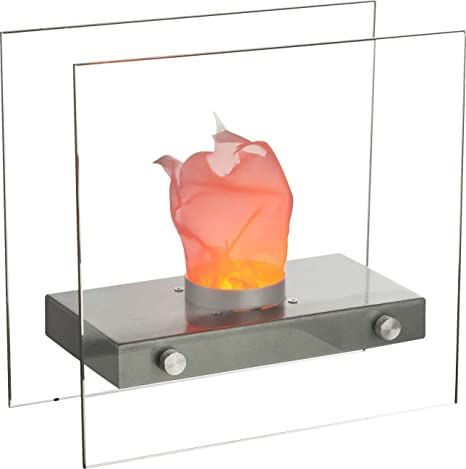 Lámpara de mesa LED en diseño mesa Chimenea Chimenea de mesa ...