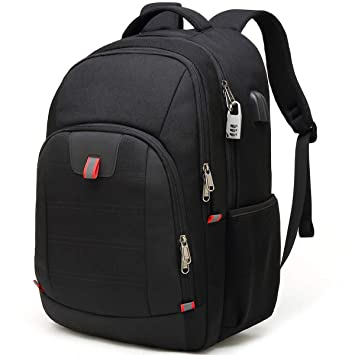 bb5341649 Laptop Backpack,Extra Large Anti-Theft Business Travel Laptop Backpack Bag  with USB Charging
