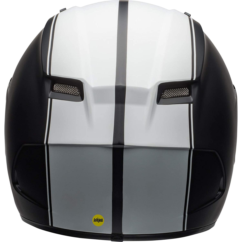 Bell Helmet qualifier dlx mips rally black matt//white xl