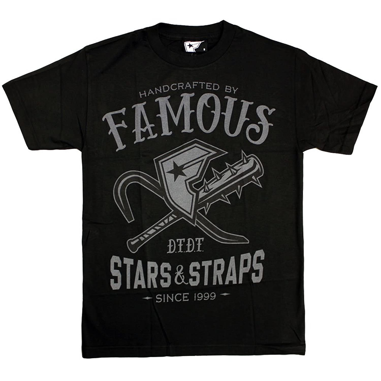 Famous Stars and Straps Misfit T-shirt Black Grey