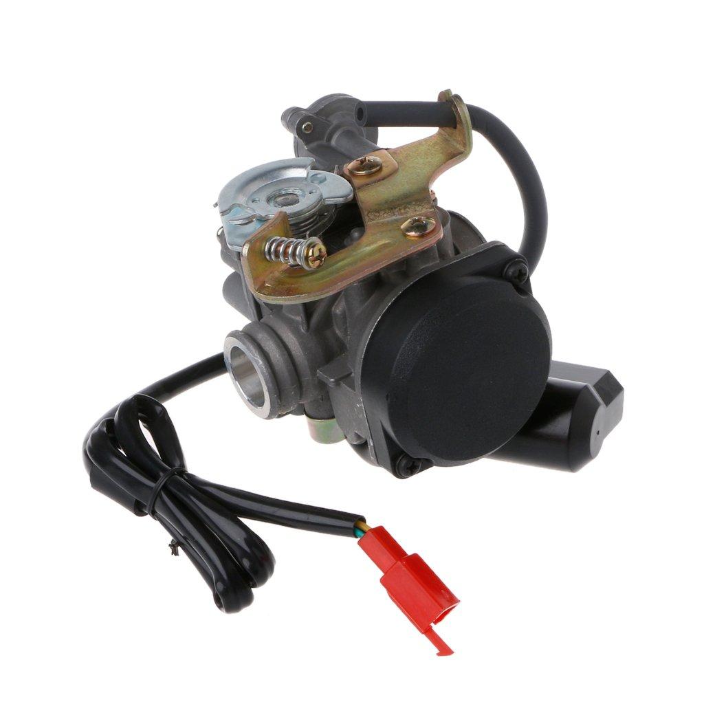 FXCO Nouveau carburateur de carburateur Carb pour scooter 4 temps GY6 SUNL ROKETA JCL 50CC-110CC