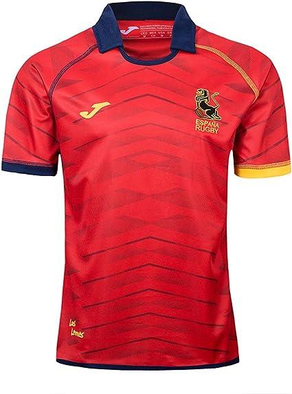 JUNBABY Camiseta De Rugby Español 2019,Camiseta De FúTbol Equipo Nacional España Hombre Camisa De Atleta: Amazon.es: Deportes y aire libre