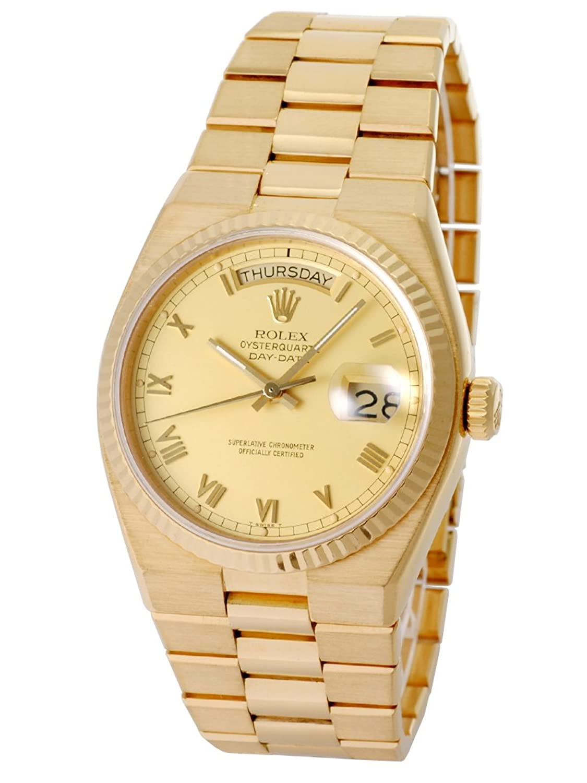 [ロレックス] ROLEX 腕時計 19018 アンティーク オイスタークォーツ デイデイト K18YG Cal.5055 83番台 [中古品] [並行輸入品] B079BH7N5D