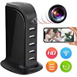 Spy Camera Wireless Hidden JLRKENG Full HD 4K USB Nanny Cam-Suitable for Home and Office Security Cameras-with Motion Detecti