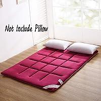 Colchón de piso para Tatami Sleeping, plegable, grueso