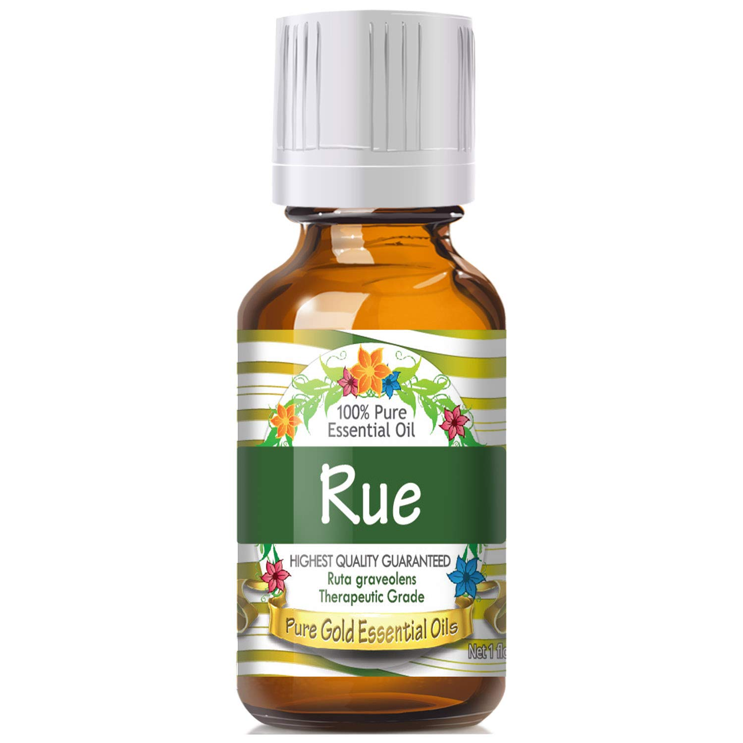 Pure Gold Rue Essential Oil, 100% Natural & Undiluted, 30ml by Pure Gold