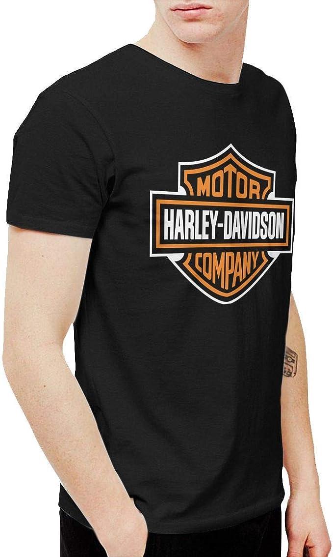 Trikahan - Camiseta de algodón para Hombre, diseño de Harley Davidson - Negro - 5X-Large: Amazon.es: Ropa y accesorios