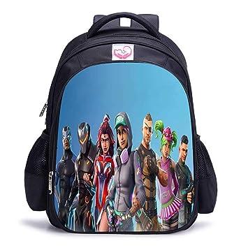 AZD Mochilas Escolares para mochila niño niñas, juego en 3D que imprime gran capacidad para mochila escolar para niños adolescentes: Amazon.es: Equipaje