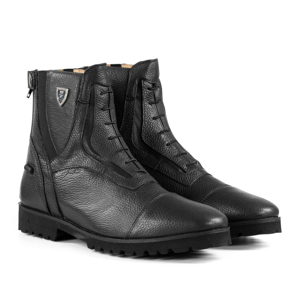 Horze Drew Jodhpur Boots B01MS1I7B9 9|ブラック ブラック 9