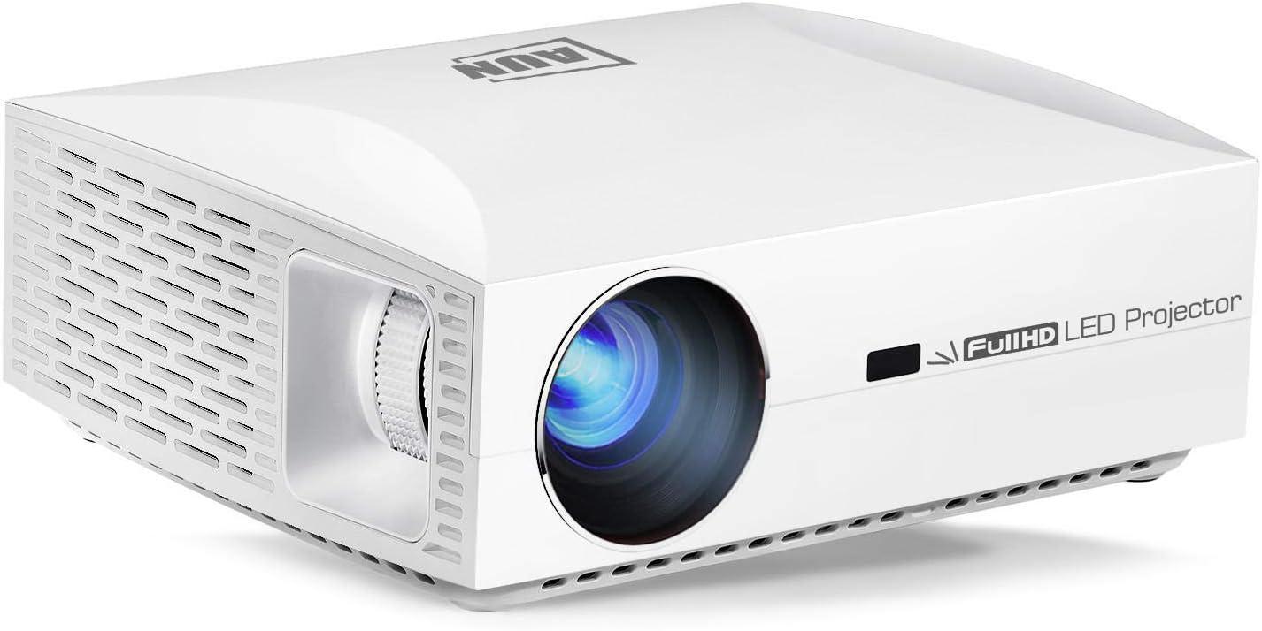 Proyector AUN F30 Full HD, Resolución 1920x1080P, 5500 lúmenes ...
