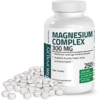 Triple Magnesium Complex Maximum Coverage 300 Mg Magnesium Oxide Magnesium Citrate...