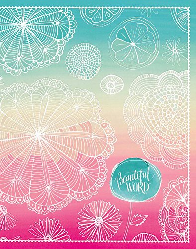 NIV, Beautiful Word Bible for Girls, Hardcover, Floral: 500 Full-Color Illustrated Verses