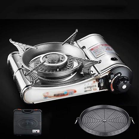 Combustible de Cassette Estufa de Gas portátil Quemador de ...