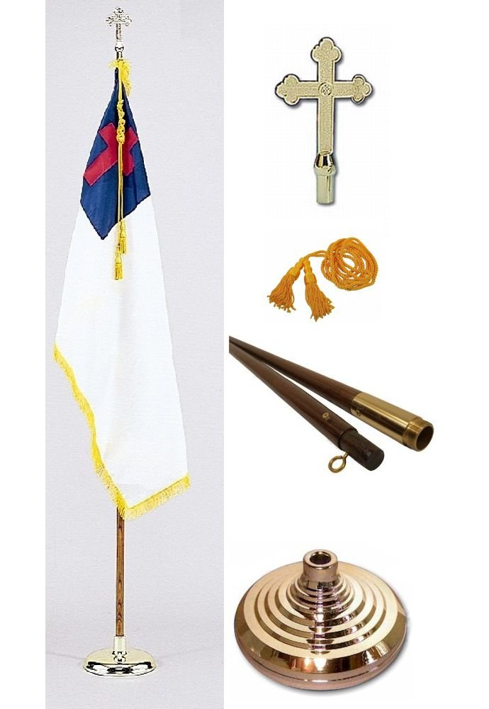 Deluxe Christian Presentation Set with 8' Pole