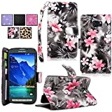 Galaxy S6 Active Case - Cellularvilla Pu Leather Wallet Flip Open Pocket ID