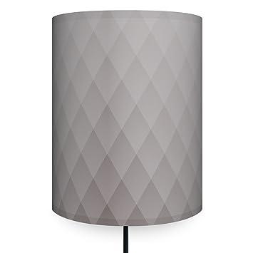 Anna Wand Wandlampe Rauten Grau Wandlampe In Grafischem Design