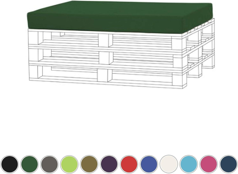 Resistente al agua espuma de asiento para palet muebles terraza exterior: Amazon.es: Jardín