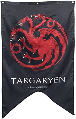 Cyberteez Game of Thrones Targaryen House Cloth Tapestry Wall Poster Flag Banner 30 x 50