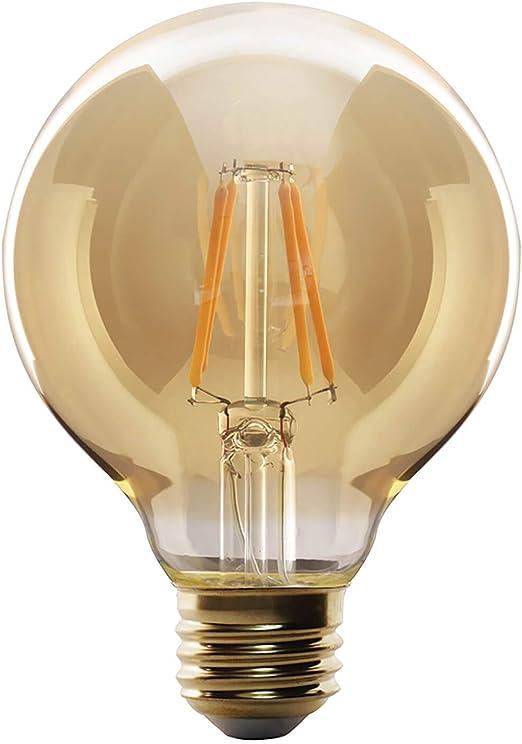 G95 E27 60W Vintage Antique Retro Style Light Filament Edison Dimmable Lamp Bulb