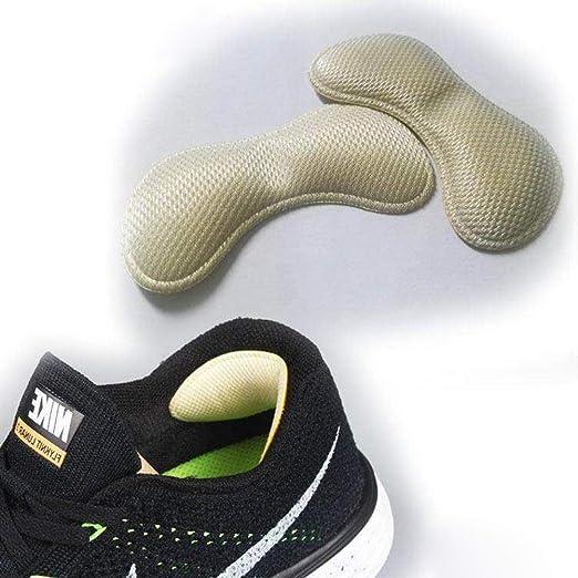 SUPVOX Coussin Talon Coussin Grips Doublures Inserts Chaussure De Remplissage De Chaussure Talon Trop Grand Pour Les Femmes Lady 3 Set Kaki