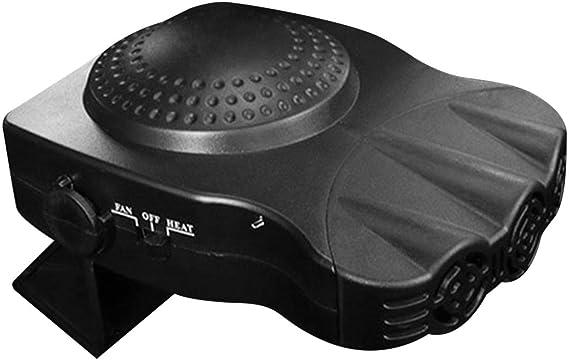Oguine 12V 150W Car Heater Window Windscreen Vehicle Defogger Defrosting Demister Blower /& Heater Cooling Fan 3-Outlet