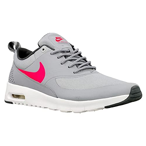 Nike Air Max Thea (GS) Running Shoes Grey Pink White Various Sizes 814444 002