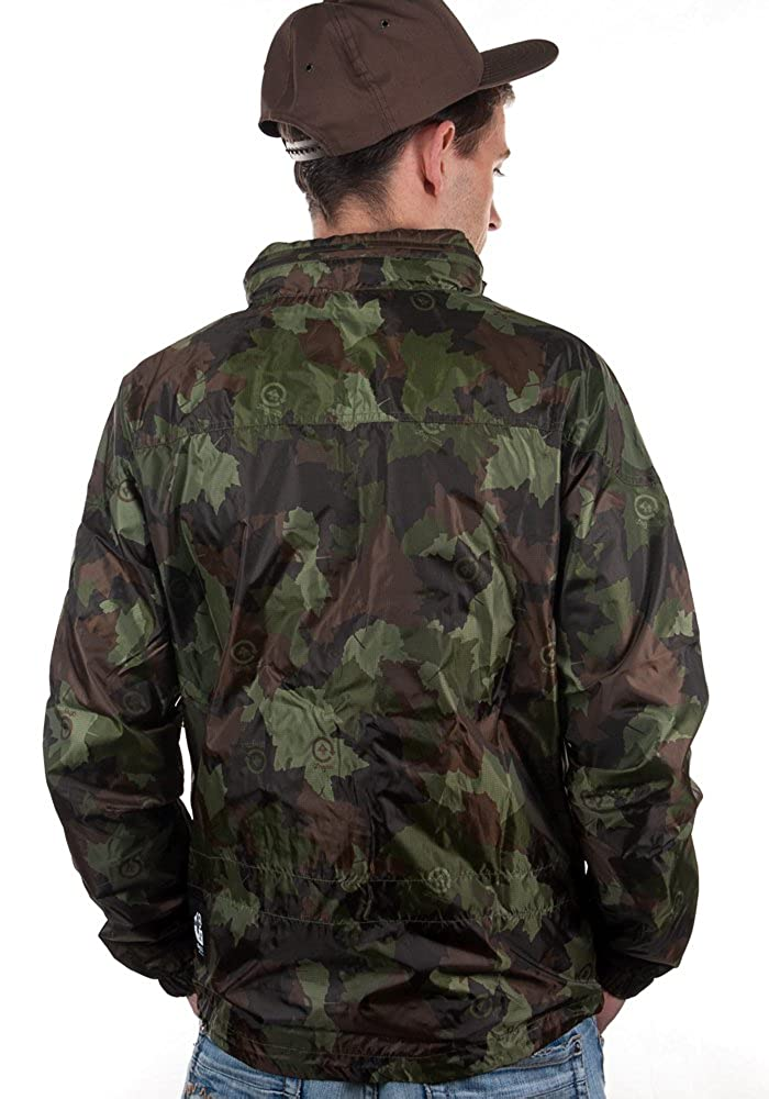 df6de0de3a8ba LRG Jacket CC WINDBREAKER olive camouflage, L: Amazon.co.uk: Clothing
