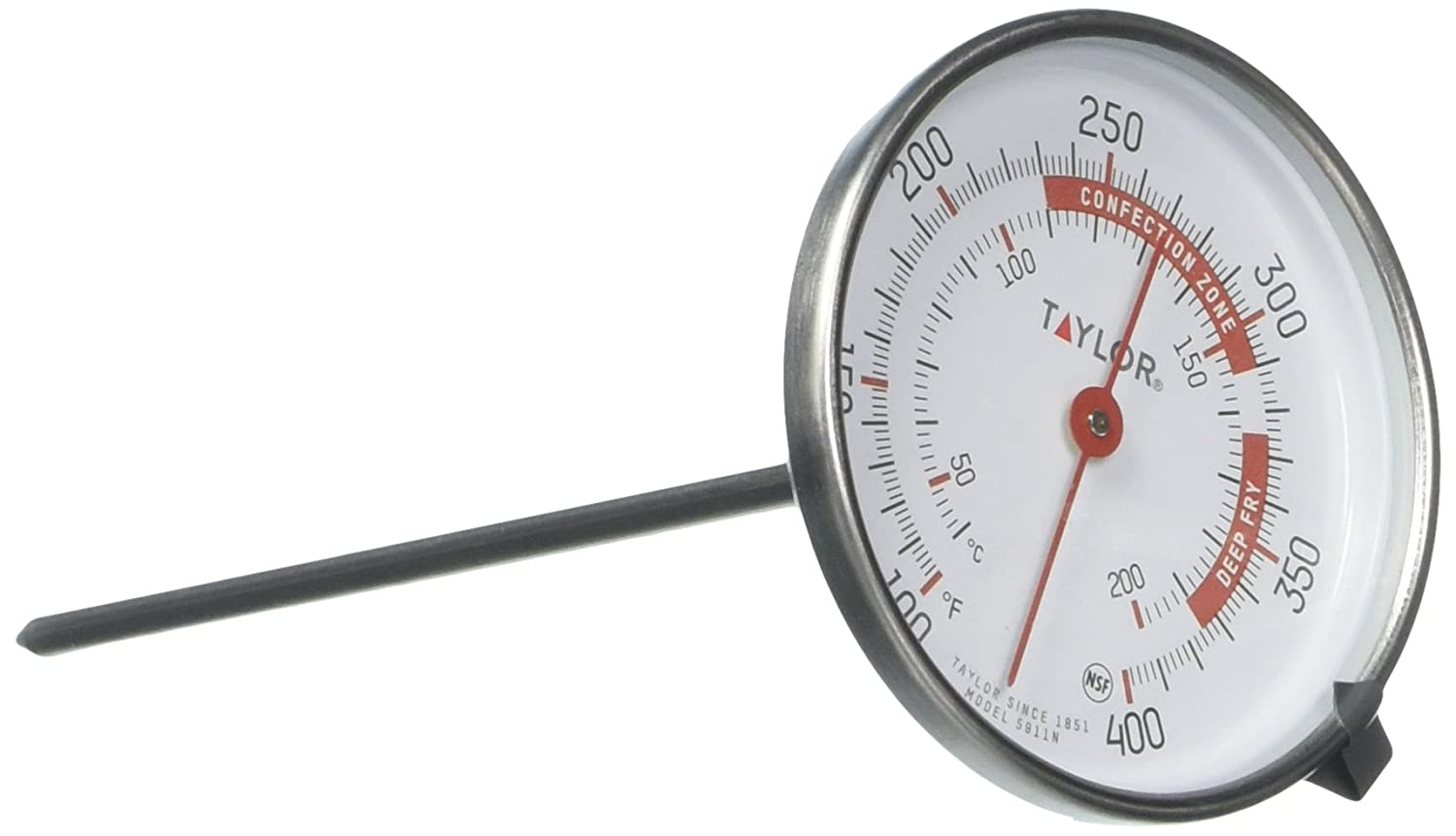 Taylor Precision Products Candy//Deep Fry//Jelly Thermometer