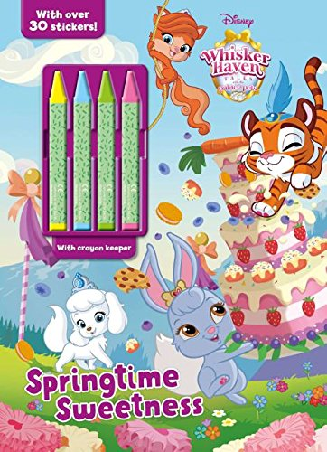 - Disney Whisker Haven Tales with The Palace Pets Springtime Sweetness (Color & Activity with Crayons)
