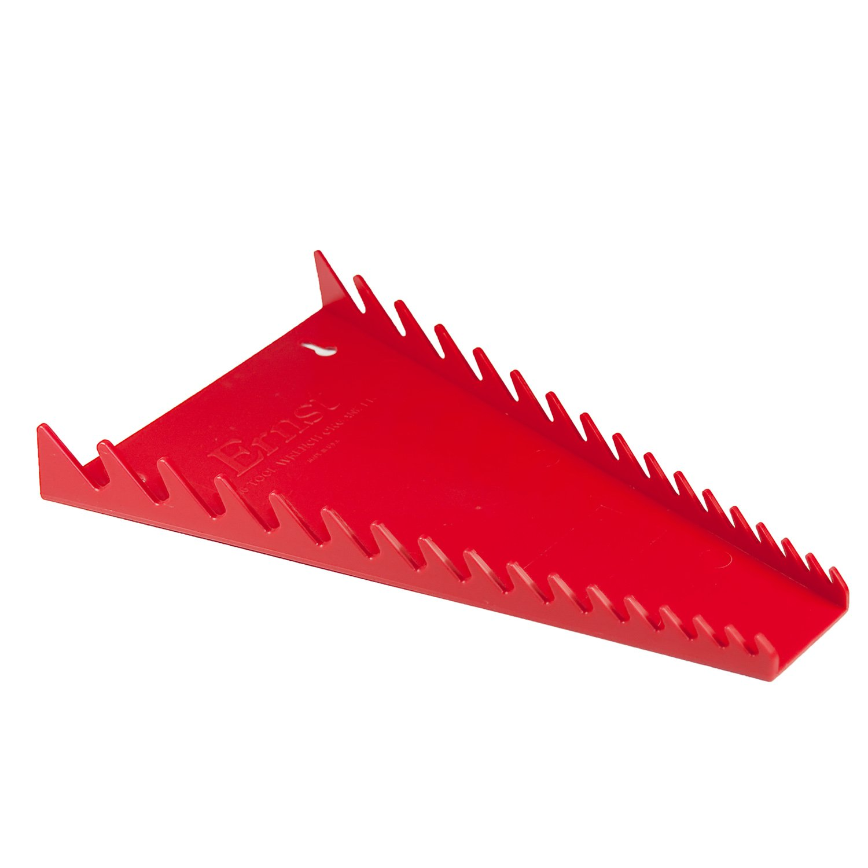 Ernst Manufacturing Standard Wrench Organizer 16 Tool Red
