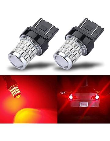iBrightstar Newest 9-30V Super Bright Low Power Dual Brightness 7440 7443 T20 LED Bulbs