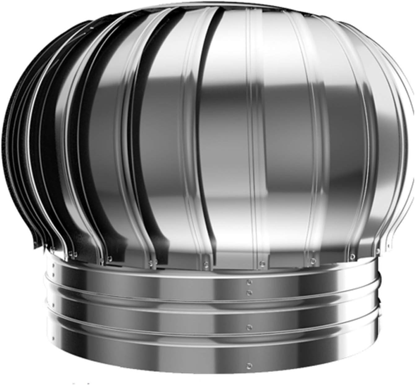 WYJW Spinner Giratorio de Acero Inoxidable para Tapa de Chimenea, Anti-Corriente, se Adapta a ollas de Chimenea estándar, Tapa de Olla de Chimenea, 100 mm