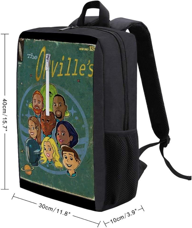 Orvilles Vintage Style Comic Cover Backpack Daypack Rucksack Laptop Shoulder Bag with USB Charging Port