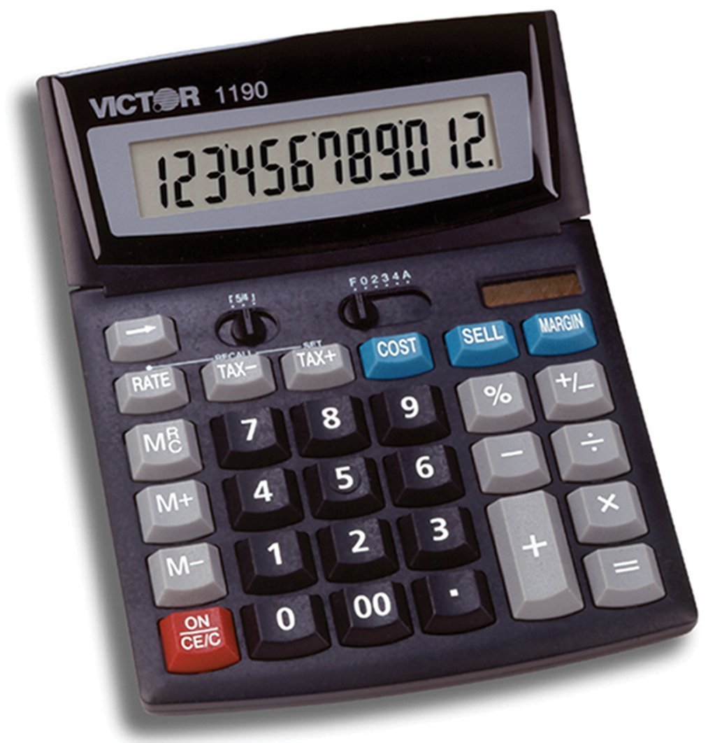 Victor 1190 Standard Function Calculator (2-Pack)