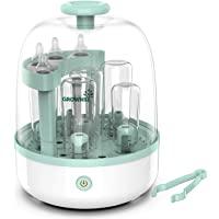 Baby Bottle Sterili-zer, Bottle Steam Sterili-zer for Baby Bottles Pacifiers Breast Pumps Large Capacity and 99.99…