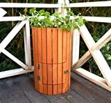 Merry Garden Wooden Potato Planter, Natural Stained