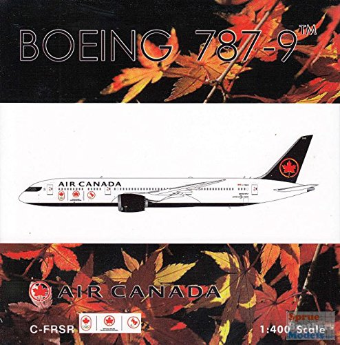 (Phoenix Model PHX1758 1:400 Air Canada Boeing 787-9 Reg #C-FRSR 'Olympics' (pre-painted/pre-built))