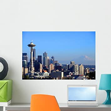 Seattle Seahawks Skyline Wall Decal By American Decals