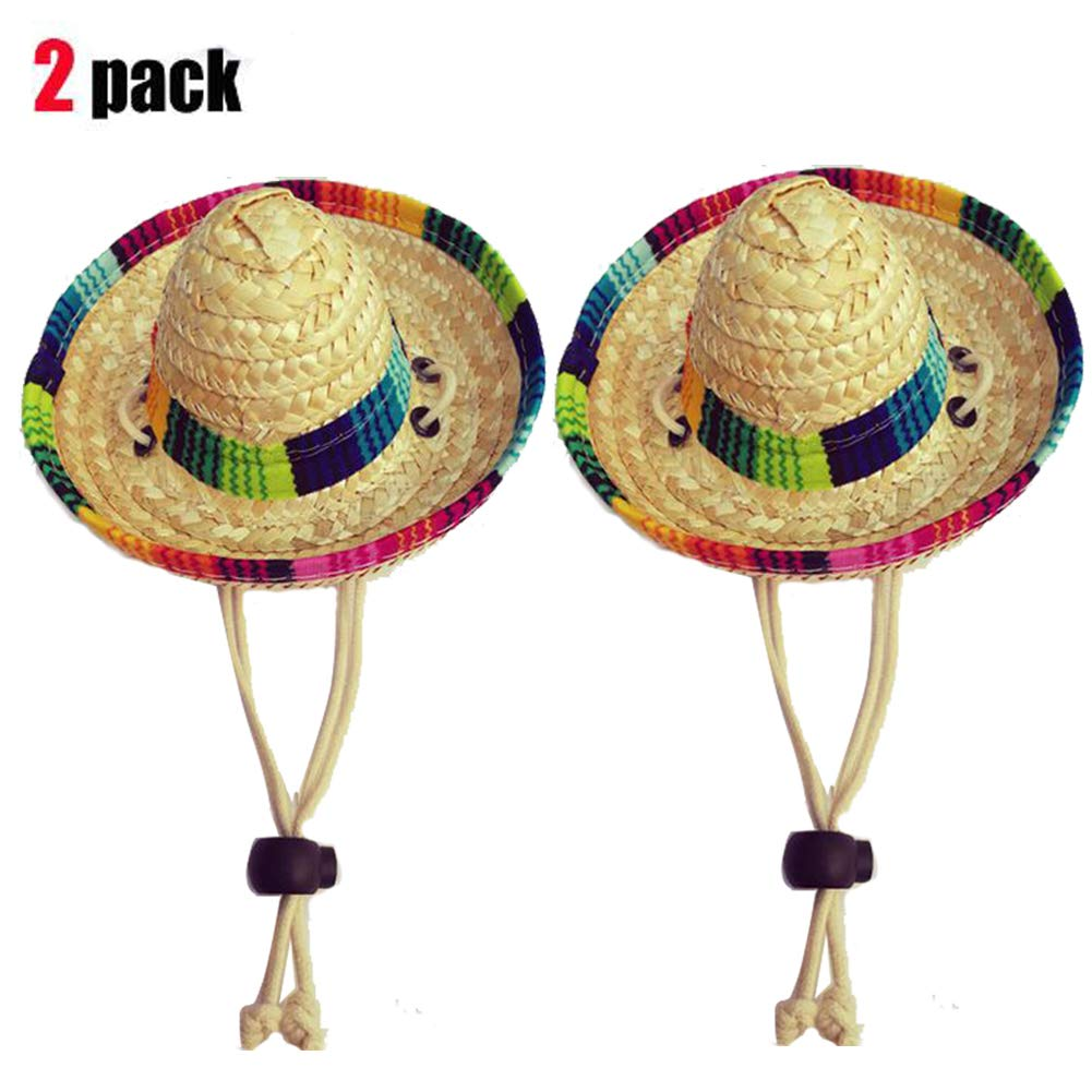 Amazon.com : Dogs Sombrero Hat Dogs Sun Hat Party Hats for Dogs ...