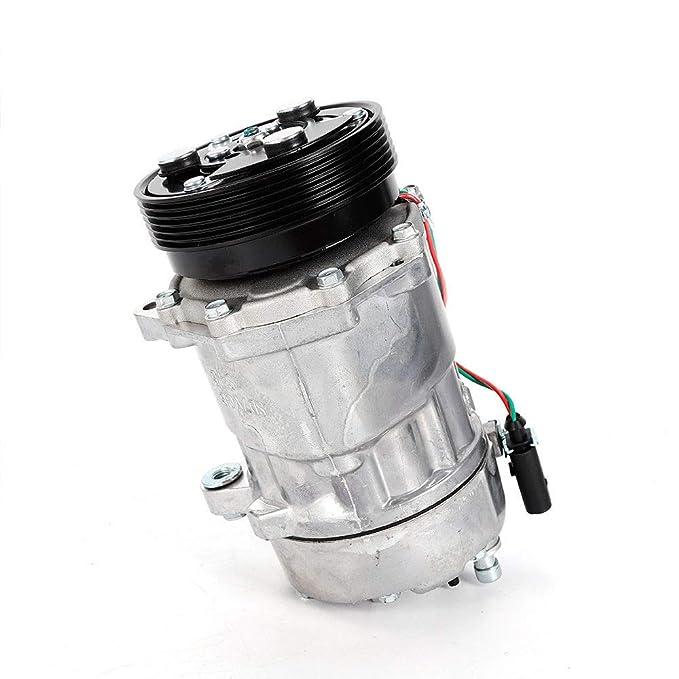 OUKANING Compresor de aire acondicionado 7V16: Amazon.es: Coche y moto