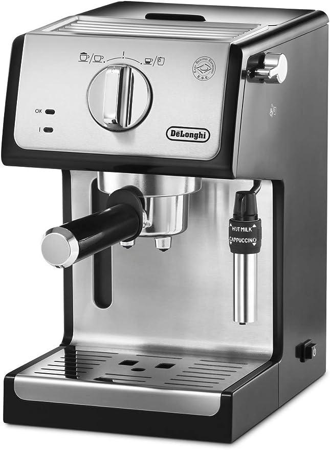 Delonghi - Cafetera de Bomba Tradicional para Espresso y ...