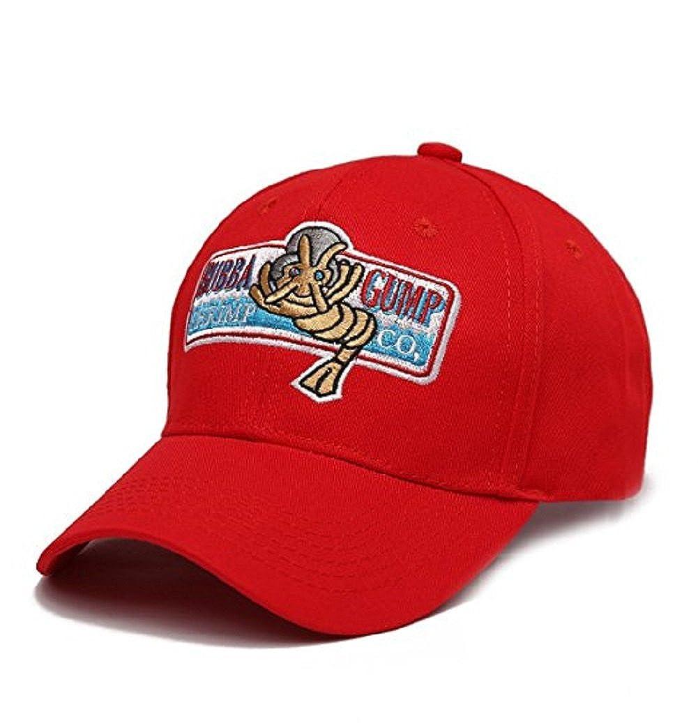 Bubba Gump Hat Adjustable Shrimp Co. Embroidered Forrest Gump Baseball Cap