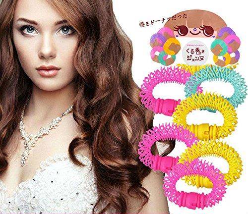 akoak-diy-salon-accessory-6-pcs-magic-doughnut-donut-sticks-rollers-circle-spiral-plastic-hair-curly