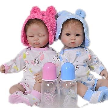 Candyana Reborn muñeca recién Nacido bebé Cuerpo Completo Silicona ...