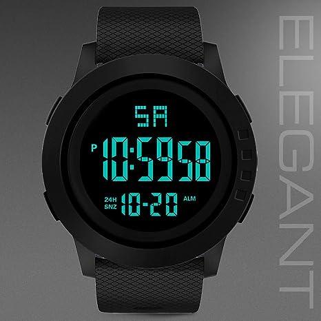 Longra❤ ❤ Moda Hombre Deportes Reloj electrónico/Reloj Inteligente Reloj de Pulsera: Amazon.es: Deportes y aire libre